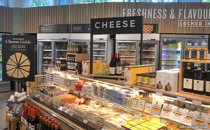 M&S's new cheese barge