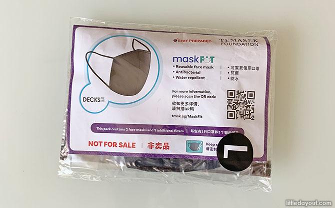 MaskFit ProShield kits: Free Masks from Temasek Foundation