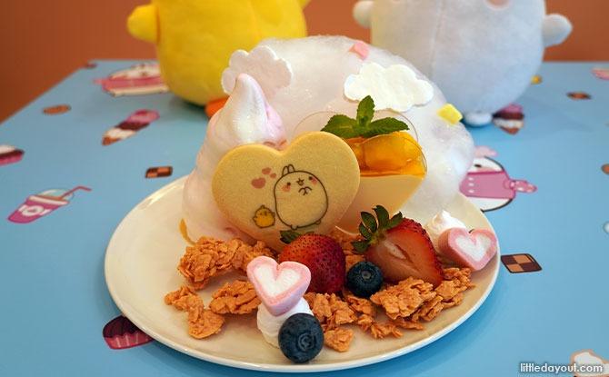 Love on Cloud 9 Mango Strawberry Parfait