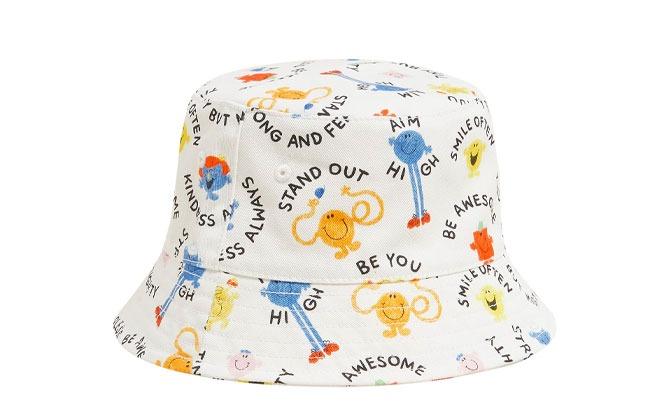 Kids' Pure Cotton Mr Men™ Sun Hat
