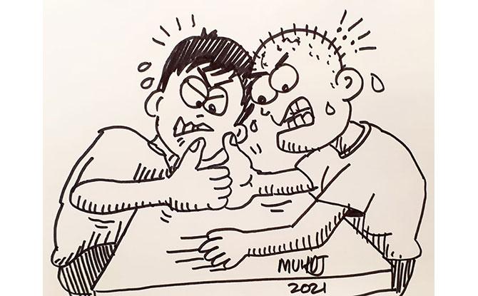 My Childhood Daze: Cartoons filled with Nostalgic Memories of Singapore