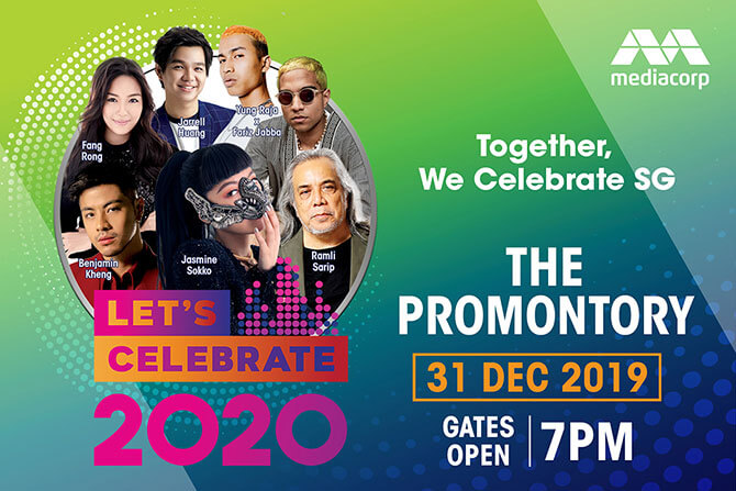 Mediacorp Let's Celebrate 2020 - New Year's Eve, 31 Dec 2019, and New Year's Day 2020