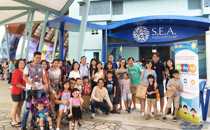 Little Day Outing to Ocean Fest! at S.E.A. Aquarium