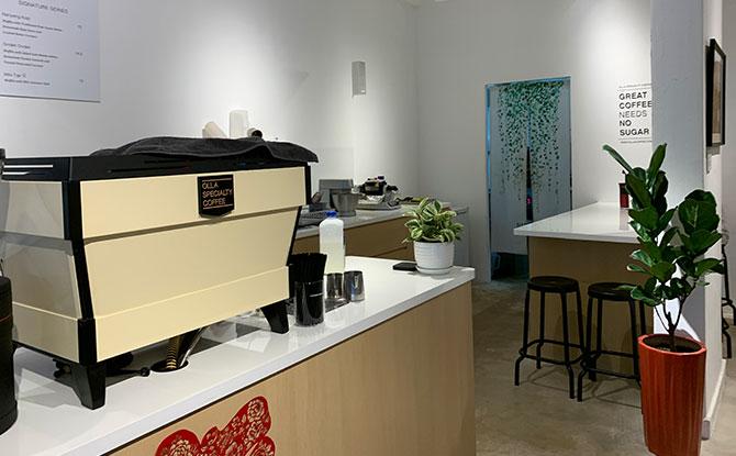Olla Speciality Coffee interior