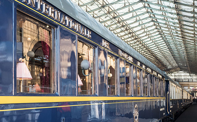 Discover the Orient Express