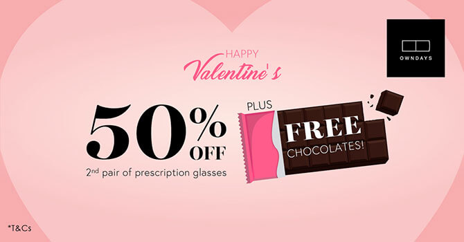 See Clearer Together - OWNDAYS Valentine's Day Promotion 2020