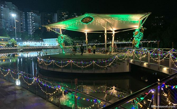 Hari Raya Light Up At Pang Sua Pond: Evening Glow By The Water
