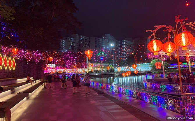 Pang Sua Pond Light-Up for Chinese New Year