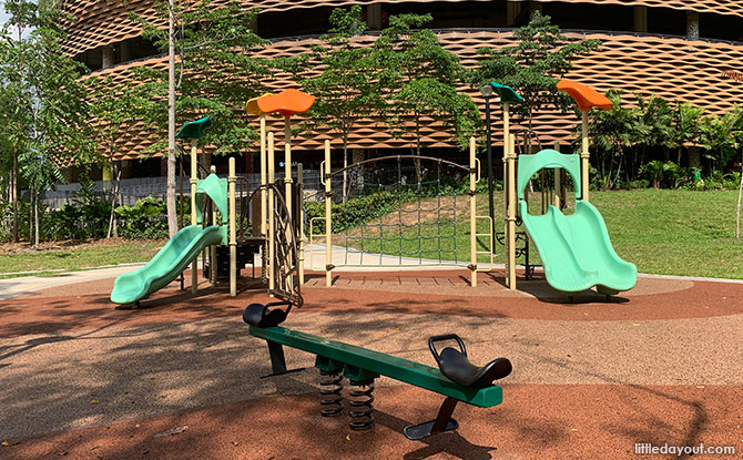 Children's playground at Pasir Ris Town Park