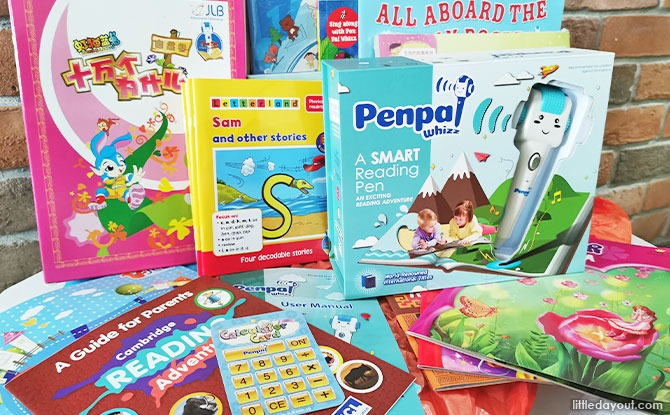 Overview of PenPal Whizz Reading Pen and Books