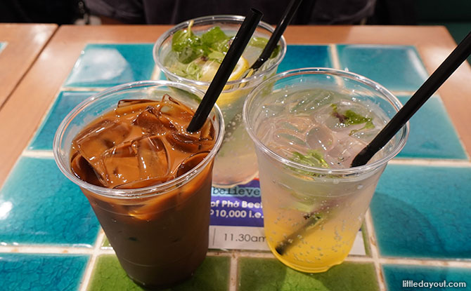 Drinks at Pho Street