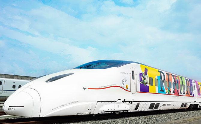 Pixar Train in Kyushu, Japan