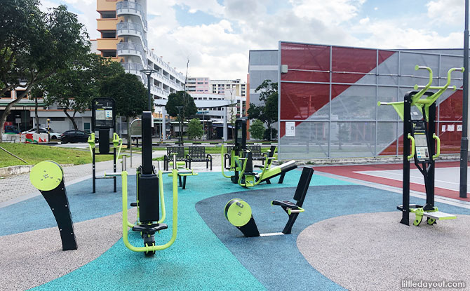 Fitness Corner at Play @ West Tampines