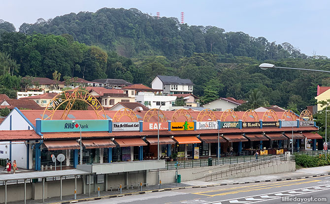 Rail Mall at Upper Bukit Timah Road