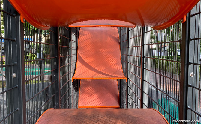 Ribbon inside the Wallhola Playground