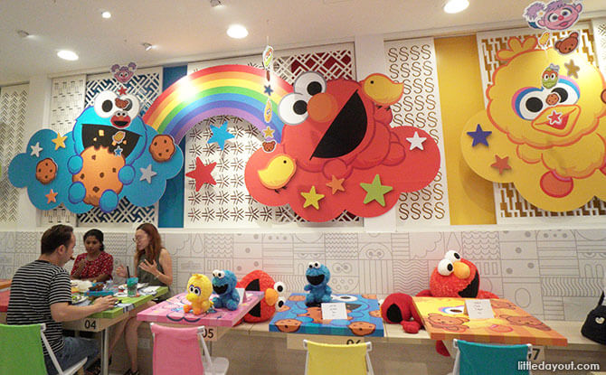 Sesame Street Pop-up Café