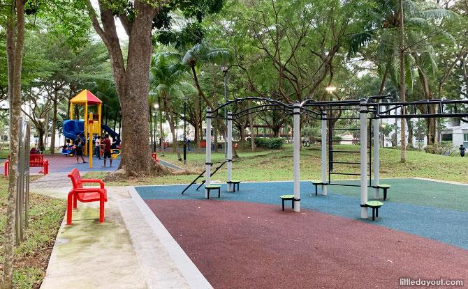 Facilities at Simei Park