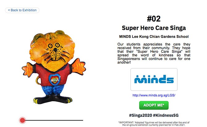 Singa 2020: Paint It Yourself - MINDS