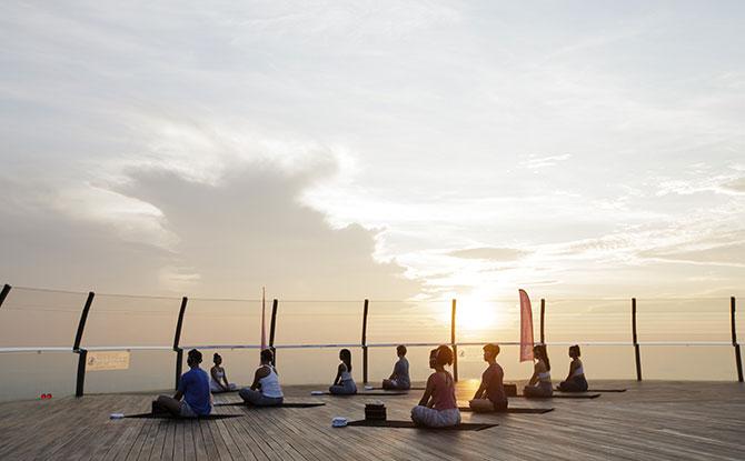 SkyPark Yoga Classes at Marina Bay Sands