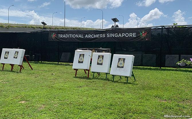Archery at Punggol East, Social Innovation Park