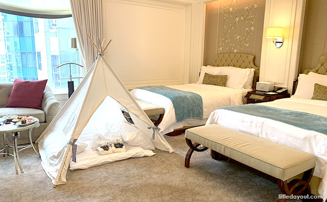 St. Regis Singapore Staycation Hotel Room for Families
