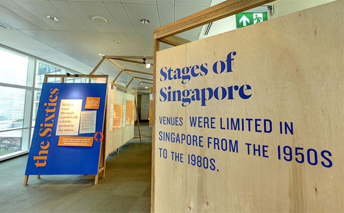 Stages of Singapore - National Library Board Exhibition Online
