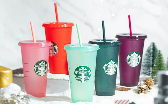 Starbucks' Christmas Merchandise