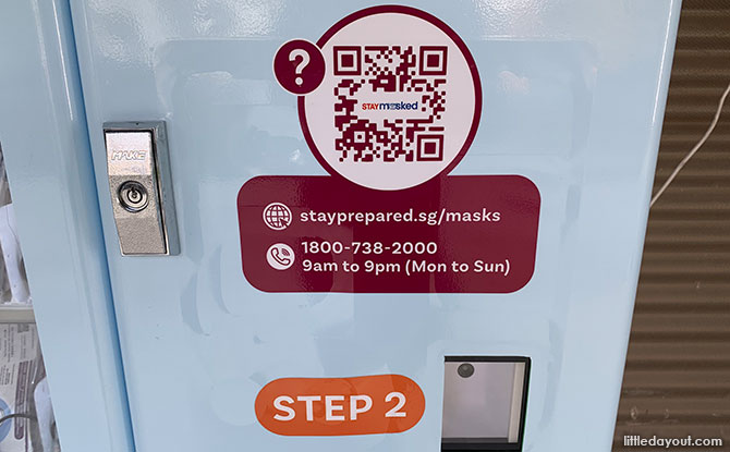 Stay Masked Vending Machine