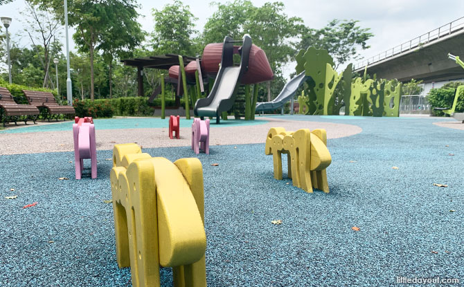 Ants at the Sembawang Crescent Playground