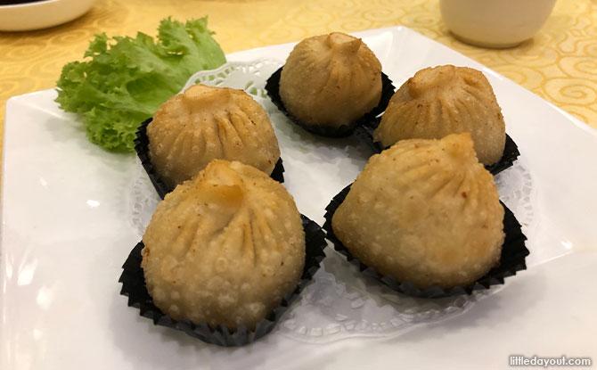 Deep-Fried Xiao Long Bao