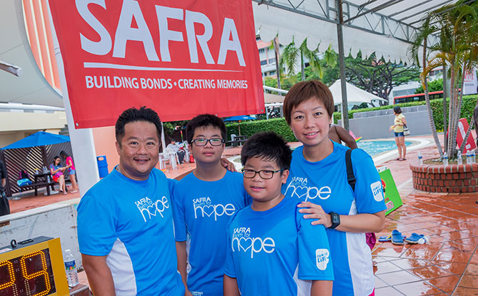SAFRA Swim for Hope: Why One Father Is Participating In This Charity Swim Again