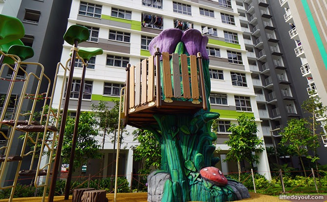 Tampines Greenview Playground Treehouse