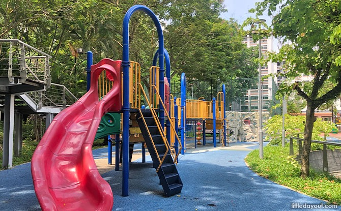 Tampines Leisure Park: Playground and Open Arena