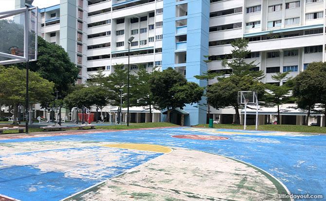 basketball court tampines green