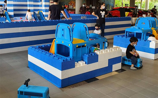 A Tayo Station Playspace Has Popped-Up At SAFRA Punggol