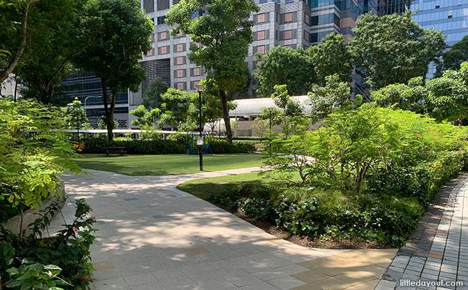 Telok Ayer Park: Green Corner In The City