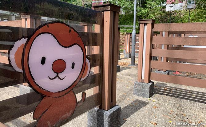 Hidden Animals at Telok Blangah Rise Children's Maze