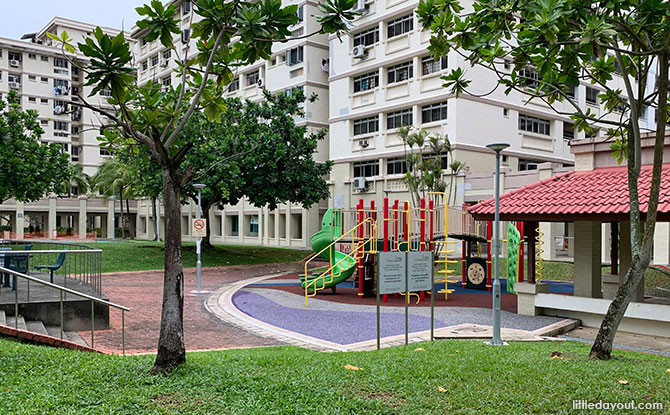 The Green Oval Playgrounds