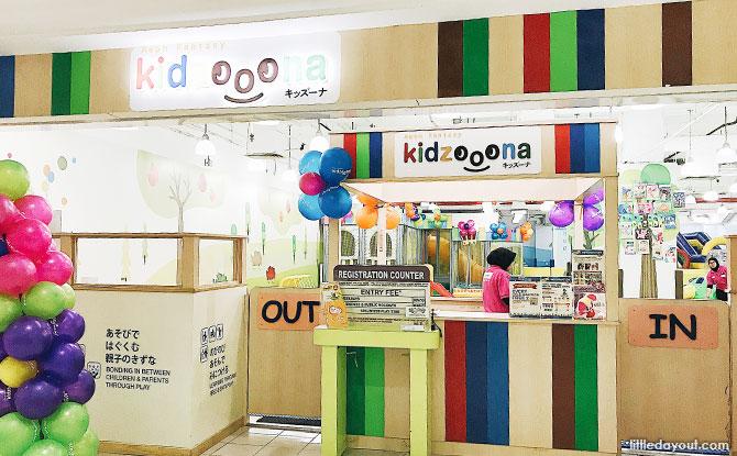 Kidzoona indoor playground in Malacca, Malaysia