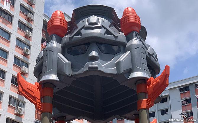 Robot Playground In Yishun