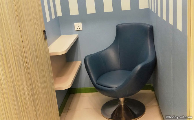 United Square Nursing Room, Breastfeeding Room