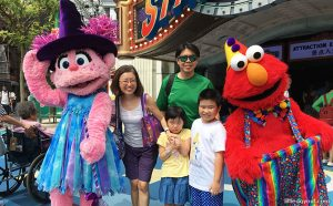 Daytime Halloween Fun at Universal Studios Singapore with Spooky Sesame Street Show and Minion Monsters Appearances