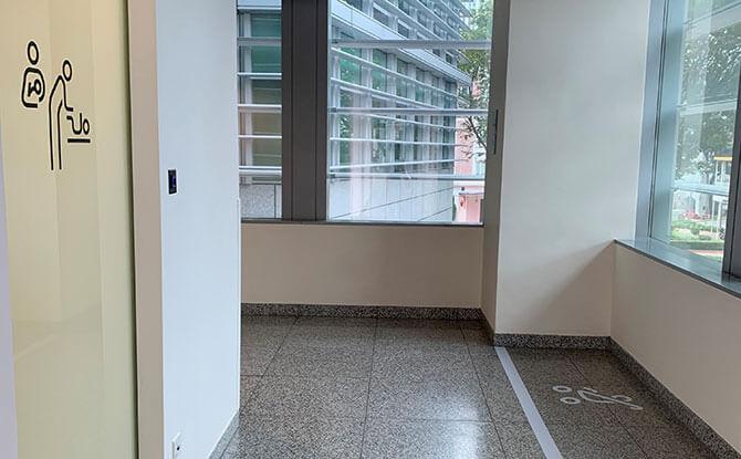 Singapore City Gallery Nursing Room