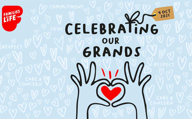 Celebrating Our Grands with Families for Life