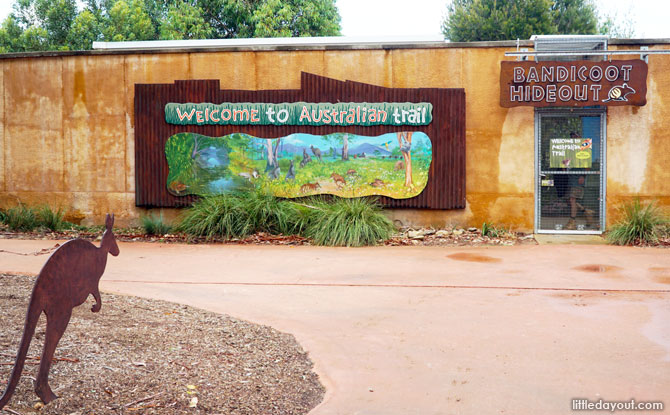 Werribee Zoo Australian Trail
