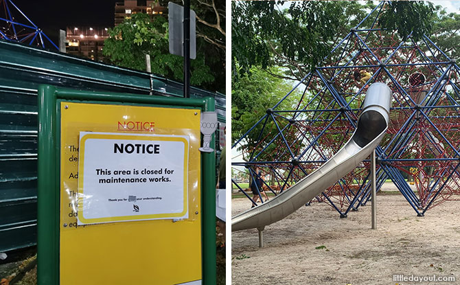 West Coast Park Pyramid Playground has reopened