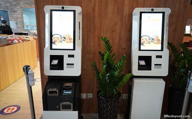 Wild Thyme Cafe Self-Ordering Kiosk
