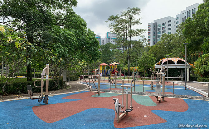 Exercise Area, Woodlands Crescent Park