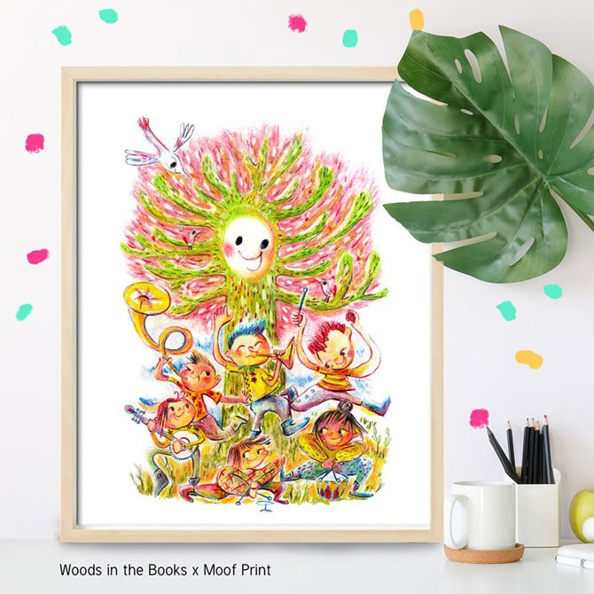 Buy a Sing a Song with Nature Art Print