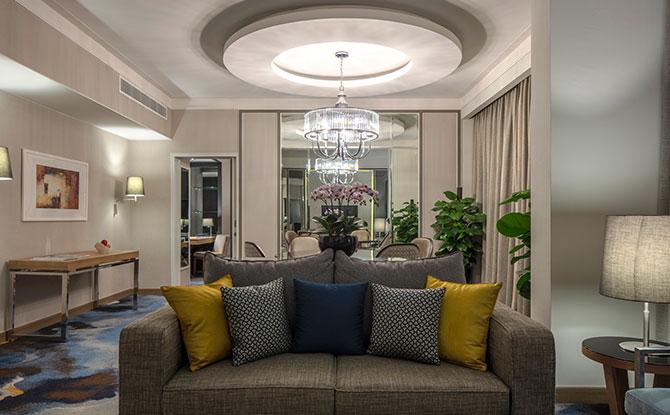 Premier Suite LivingArea_OrchardHotel